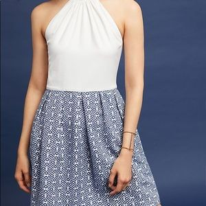 NWT Anthropologie Ina Halter Dress